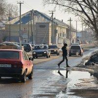Весна в городе :: Юрий Фёдоров