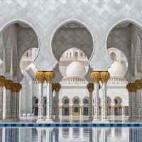 В мечети Шейха Зайда в Абу-Даби :: Владимир Горубин