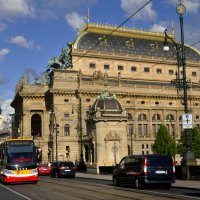 Национальный театр в Праге :: Николай Ярёменко