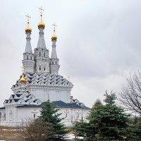 Трёхшатровая Одигитриевская церковь :: Юрий Шувалов