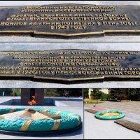 "Азов. Мемориал ""Павшим за Родину"" (фрагмент) :: Нина Бутко"