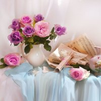 Прекрасной розы аромат... :: Валентина Колова