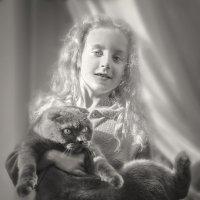 Сказочная Алиса и кот Бегемот :: Лидия Цапко