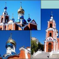 Азов. Полковой храм азовской иконы Божией Матери :: Нина Бутко