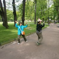 Случай в парке .. :: Алёна Савина