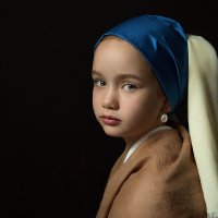 Девочка с жемчужной сережкой :: Юлия Дурова