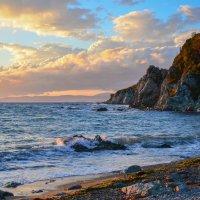 открытое море и уже не теплое октябрьское солнышко :: Виталий Валерьев