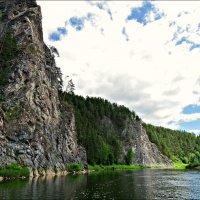 Река Чусовая на Урале :: Leonid Rutov