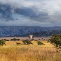 Сафари на воздушном шаре...Танзания! :: Александр Вивчарик