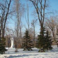 В парке март... :: марина ковшова