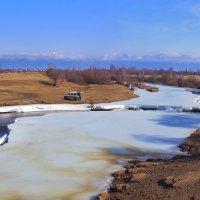 Реки Тункинской долины. Река Харагон :: Анатолий Иргл