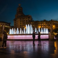 Вечер у фонтана :: Татьяна Василюк
