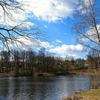 Весенний деревенский пейзаж :: Милешкин Владимир Алексеевич
