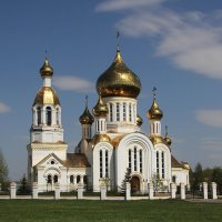 Храм. Поселок Комсомольский. Мордовия :: MILAV V