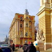 Дом Навроцкого (1891-1893 гг.) в Одессе :: Денис Кораблёв
