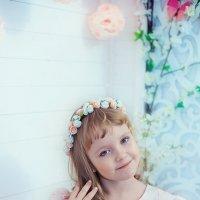 Весенняя фотосессия в студии Самары :: марина алексеева