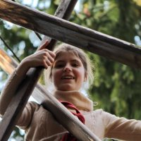 В верёвочном городке :: Александра Романова