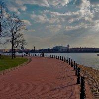 На Стрелке Петропавловской крепости... :: Sergey Gordoff