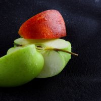 Сочные аппетитные яблоки! :: Иван Лазаренко