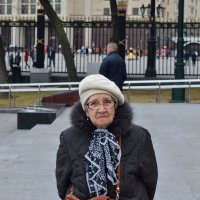 Скорбь на лицах москвичей. :: Татьяна Помогалова