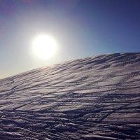 Графика лыжных склонов :: Николай Ярёменко