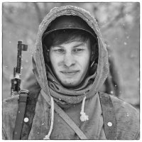 Февральский снег... :: Фёдор Куракин