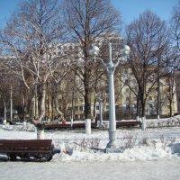 В марте на набережной... :: марина ковшова