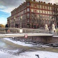 Львиный мост*** :: Valeriy Piterskiy