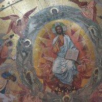 """""""Христос во славе"""", мозаика алтаря Н.Н. Харламов :: Елена Павлова (Смолова)"""