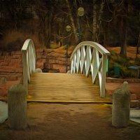 Весенний мостик.... :: Tatiana Markova