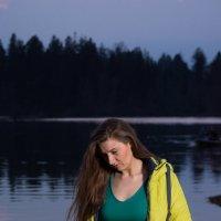 один вечер у озера :: виктор