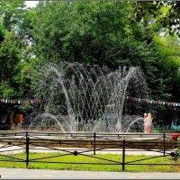 Азов. Фонтан в парке :: Нина Бутко