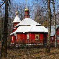 Деревенский православный храм :: Милешкин Владимир Алексеевич