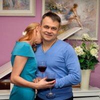 Два бокала красного вина :: Дмитрий Конев