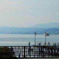 дымка над Цюрихским озером :: Александр Корчемный