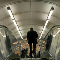 В метро :: Tanja Gerster