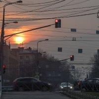 Москва, закат :: Игорь Герман