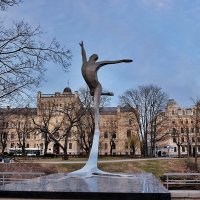 Памятник  балетному танцовщику Марису Лиепa :: Swetlana V