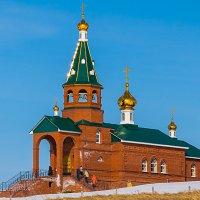 Храм блаженной Варвары Скворчихинской :: Любовь Потеряхина