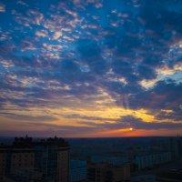 Утро над городом :: Ольга Туманова