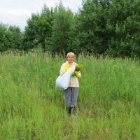 В поход за лечебными травами... :: ВАЛЕНТИНА ИВАНОВА