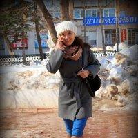 Алло, Галочка, ты не поверишь! мы с Якиным улетаем в Гагры!:) :: Андрей Заломленков