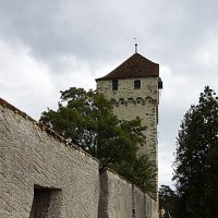 На крепостной стене в Люцерне :: Татьяна Манн