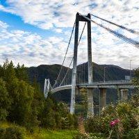 Bridge over the fjord :: Aleksandrs Rosnis