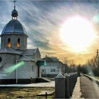Церквушка в Антоновке :: Александр Довгий