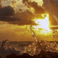 Закат на океане :: Алена Торопов