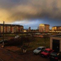 Дождь, и радуга сияет... :: Анатолий Клепешнёв