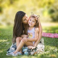 Мама и дочка :: Anna Belova