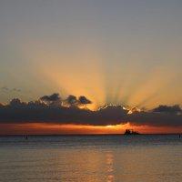 Закат на Маврикии :: Julia A