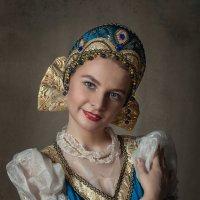 Девушка в кокошнике :: Olga Burmistrova